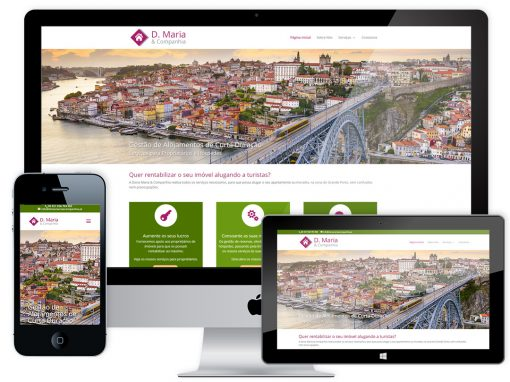 Website Design – Dona Maria & Companhia